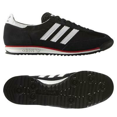 adidas ORIGINALS SL 72 TRAINERS RETRO RARE DEADSTOCK BLACK SNEAKERS SHOES KICKS