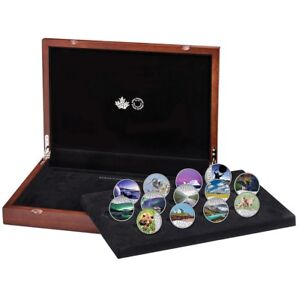 Canada 150 Special Places 13 Coin Pure Silver Set