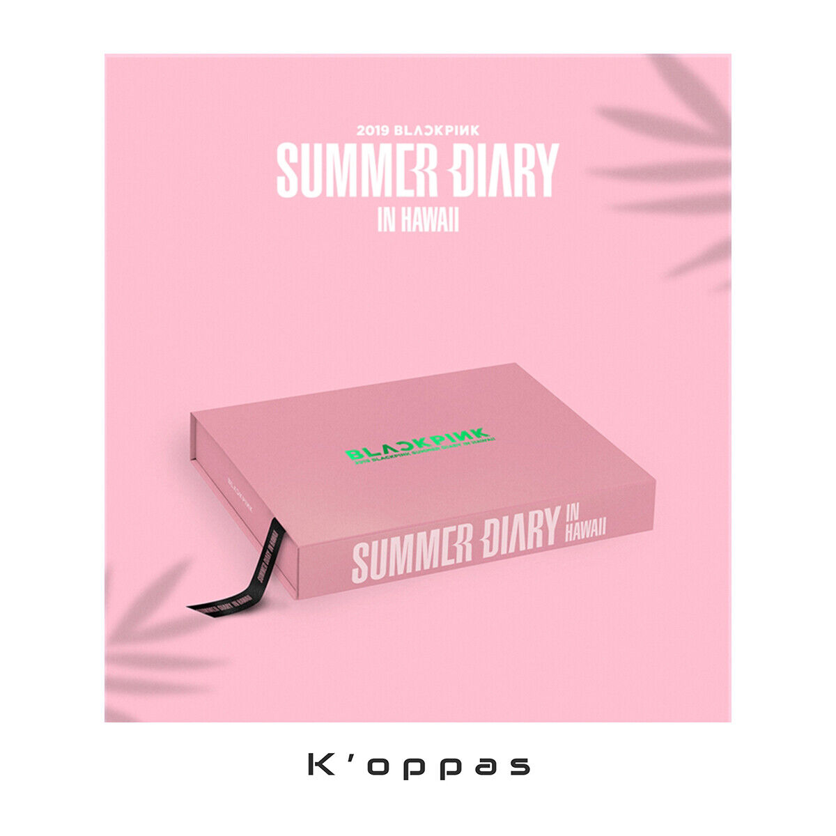 BLACK PINK SUMMER DIARY [IN HAWAII] Full Package Photobook+DVD+Photocard+Etc