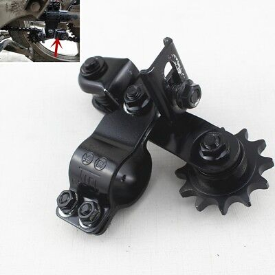 CIRCULAR FORK MOTORCYCLE CHAIN TENSIONER ADJUSTER STEEL GEARWHEEL ADJU