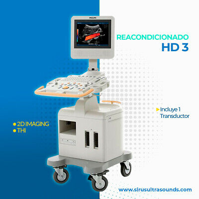 Philips Hd3 Ultrasound System