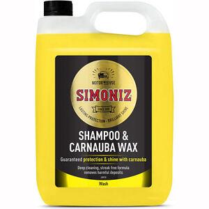 Simoniz SAPP0086A Wash & Wax Car Shampoo 5L