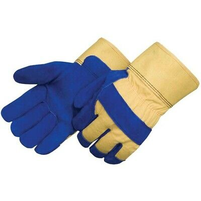 Liberty 3656 Thermo-lined Split Cowhide Insulated Water-proof Work Gloves Lgxl