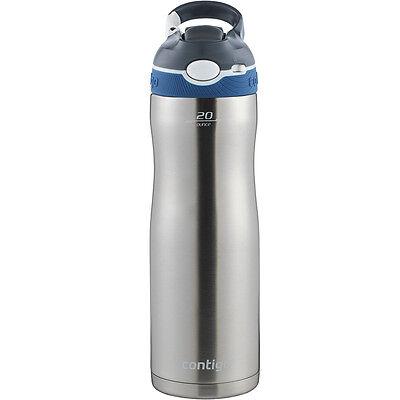 Contigo 20 oz. Ashland Chill Autospout Stainless Steel Water Bottle - Monaco
