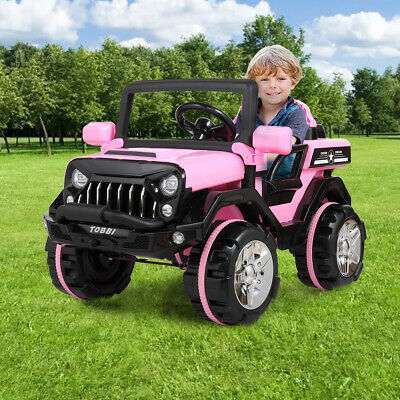 12V Kids Ride On Truck Car Electric Toy SUV Style Remote Control w/ LED MP3