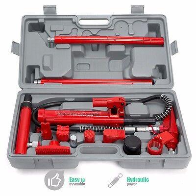 4 Ton Porta Power 4 Ton Body Frame Repair Kit Hydraulic Spreader Ram 4T Force HD