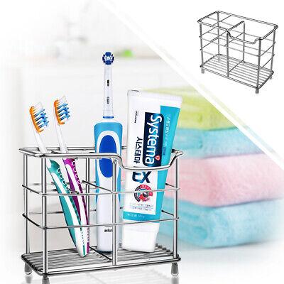 Bruser Tandbørsteholder Rustfrit stål Elektrisk tandbørsteholder Badeværelse