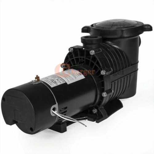 1.5/2HP 115-230v 5520GPH In/Above ground Swimming Pool motor Strainer 1500W