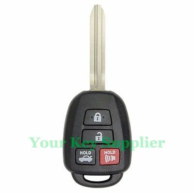 2015 2016 2017 Toyota Camry Corolla Keyless Entry Remote Key Fob HYQ12BEL H CHIP