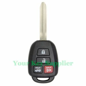 new uncut 2012 2013 2014 toyota camry keyless entry remote head key fob hyq12bdm. Black Bedroom Furniture Sets. Home Design Ideas