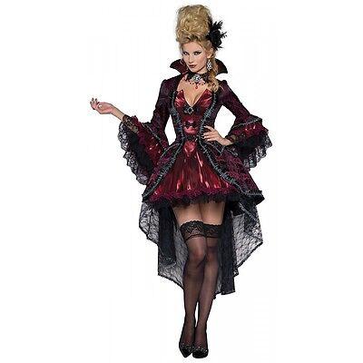 Vampire Costume Adult Victorian Masquerade Halloween Fancy Dress - Victorian Halloween Costumes Women