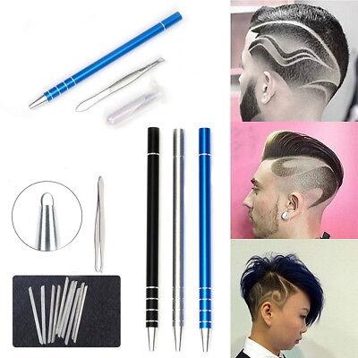 Hair Design Shaver Hair Styling Magic Engraved Razor Pen + 10Blades Professional