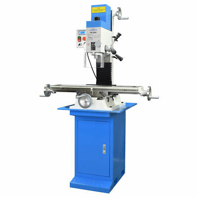 Pm-30mv Vertical Bench Type Milling Machine Stand Variable Speed Free Shipping