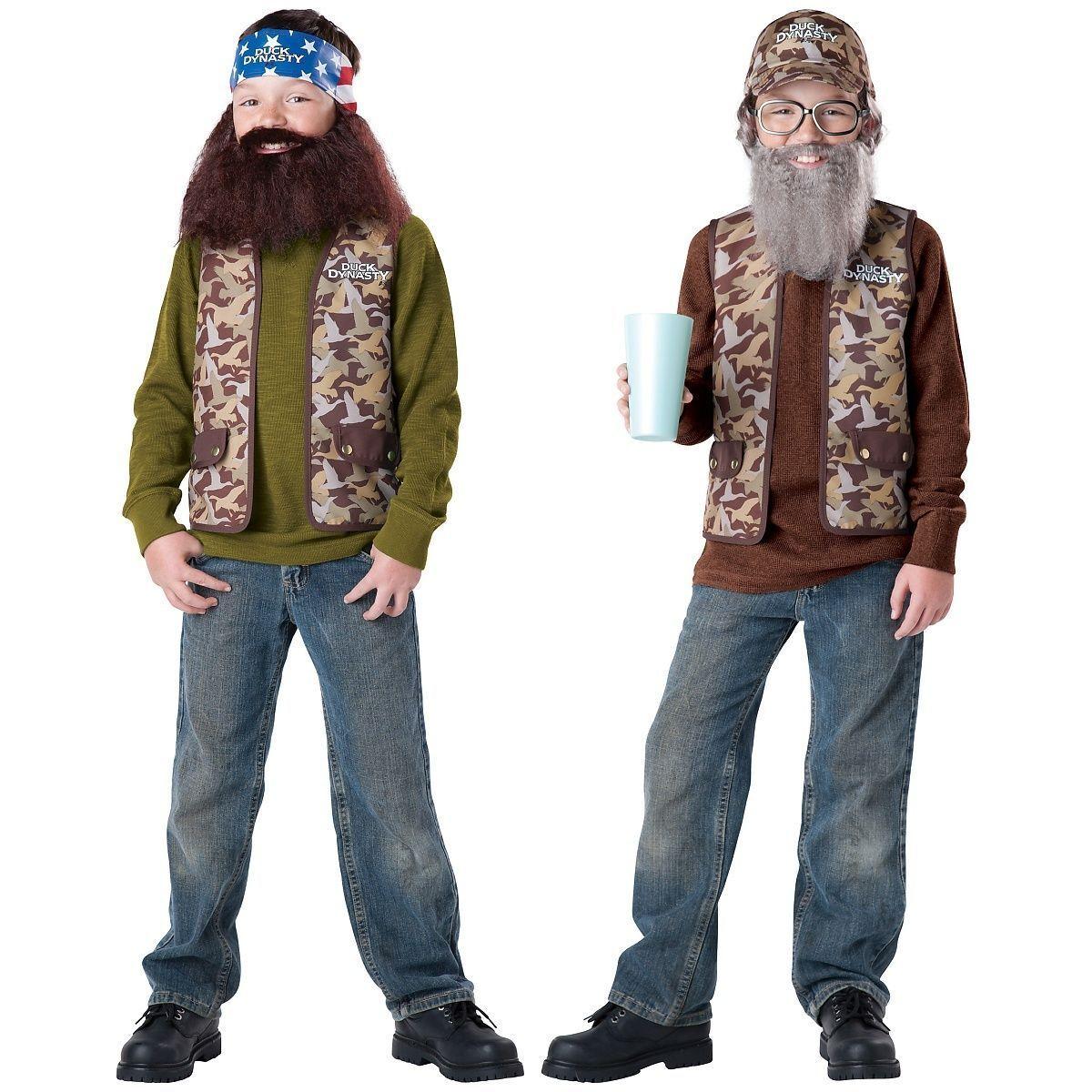 Duck Dynasty Costume Kids Funny Halloween Fancy Dress
