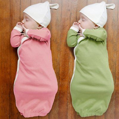 Newborn Baby Boy Girl Clothes Romper Bodysuit Sleeping Bag Sleepsack Outfits - Baby Boys Sleeping Bags
