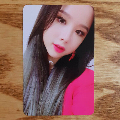 Solji Official Photocard EXID Single Album I Love You Kpop Genuine