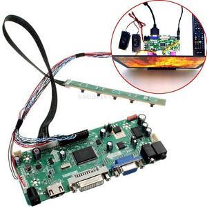 12V HDMI DVI VGA Audio Controller Board for 15.6