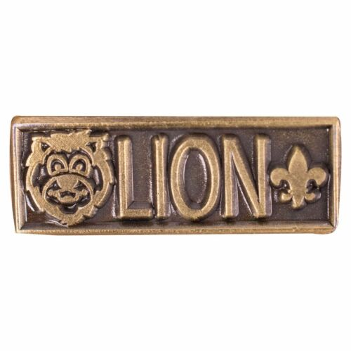 BSA GIRL BOY CUB SCOUTS LION RANK PARENTS HAT LAPEL PIN EMBLEM KINDERGARTEN AGE