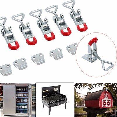 Metall Bügelspanner Verschlußspanner Schnellspanner Haltekraft Tür Latch Hand