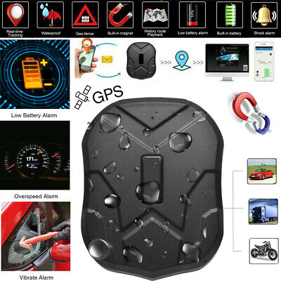 Auto Gps (GPRS GPS Tracker TK905 für Auto KFZ Wasserdicht Echtzeit Magnet Lokalisierung 3C)