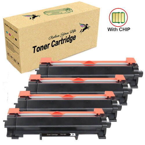 High Yield TN760 Toner Cartridge with Chip for Brother HL-L2