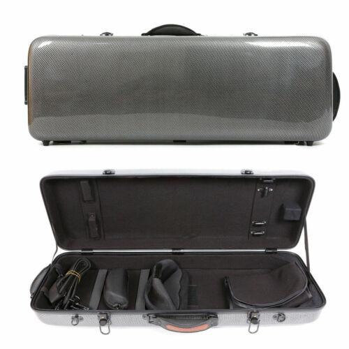 Adjustable Hard Viola Case Carbon Fiber Viola Box Composite fit For 15-17inch