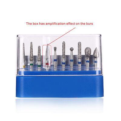 SALE 1Kit Diamond Burs FG-108 for Dental Porcelain Shouldered Abutment Polishing