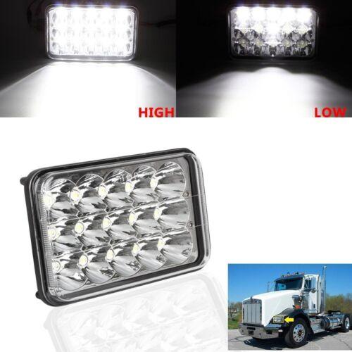 "4x6/"" LED CREE Sealed Beam Headlight For Suzuki DRZ400SM DRZ400S DRZ400E"