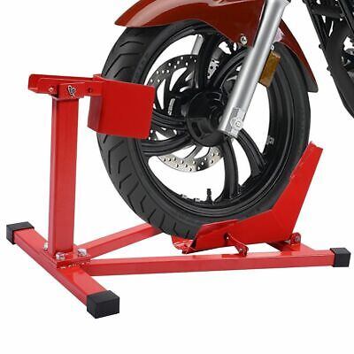 """Motorcycle Sport Bike Front Wheel Chock Lift Stand Fits 16""""-18"""" (Wheel Lift Stand)"""