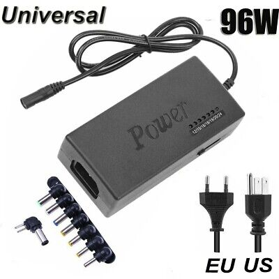 Universal Power Supply Charger for PC Laptop Notebook Power Adapter 96W US/EU