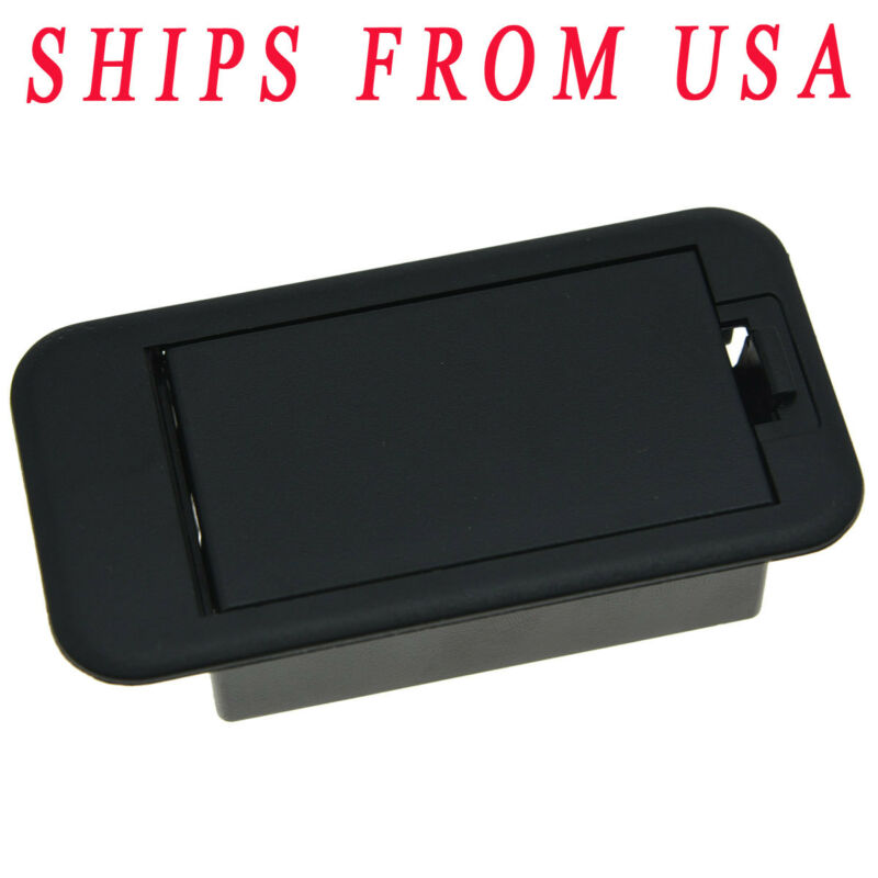 KAISH 9V Battery Cover Battery Box Case Compartment for Guitar Bass