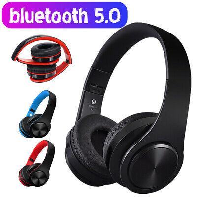 ❤ Wireless bluetooth 5.0 Headphones Foldable Stereo Earphones Super Bass Headset