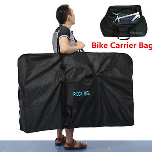 51 Bike Folding Travel Bag Carry Transport Case Road Mountain Bicycle Luggage