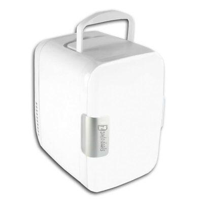 Zento Deal Portable Travel Office Car AC/DC Adapter Cooling Warming Mini Fridge  Mini Travel Ac Adapter