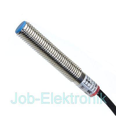 Sensor 8mm Ø PNP NC ÖFFNER Induktiver Näherungs - Schalter INI Detektor 6-36V DC