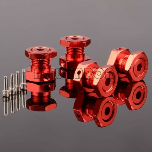 RC ALUMINUM 17mm HEX NUTS hubs FOR TRAXXAS 1//10 REVO 2.5 3.3 E-REVO