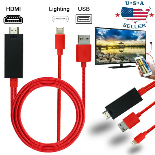 hdmi mirroring cable phone to tv hdtv