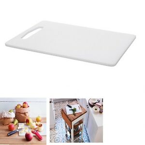 Chopping Board IKEA Plain White Plastic Cutting Kitchen