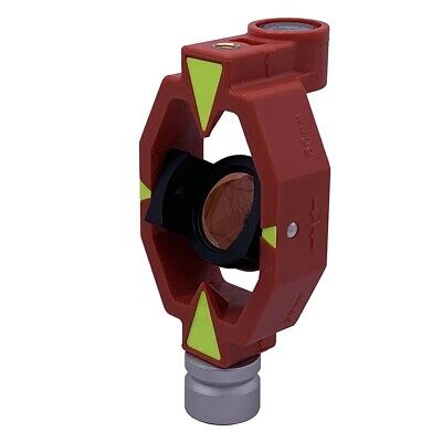 New Mini Prism For Swiss Style Total Station Surveying 0mm Offset.