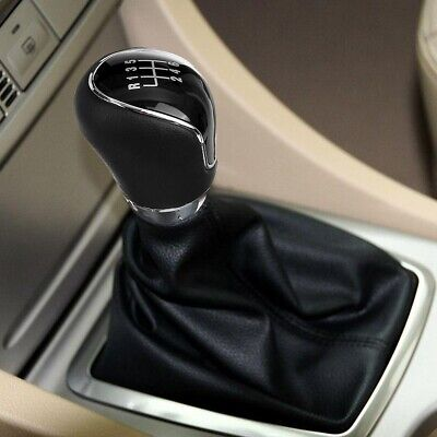 KKmoon Gear Stick Shift Knob Head Lever Adapter Manual 6-Speed Transmission for Ford Focus 2008-2013