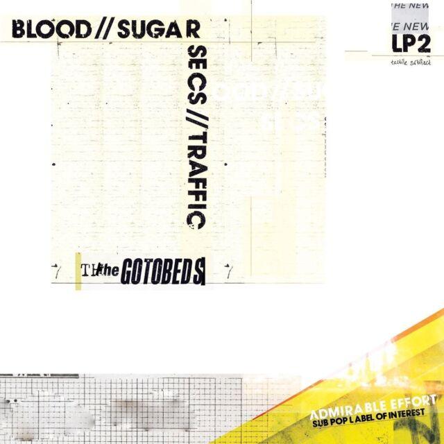THE GOTOBEDS - BLOOD//SUGAR//SECS//TRAFFIC   CD NEU