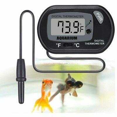 Termómetro Digital LCD Acuario Peces Tanque agua Vivero Reptil Nevera-Congelador