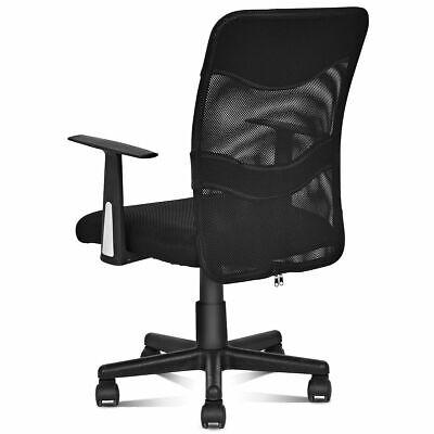 Modern Mesh Mid-back Executive Computer Office Task Office Chair Ergonomic Black