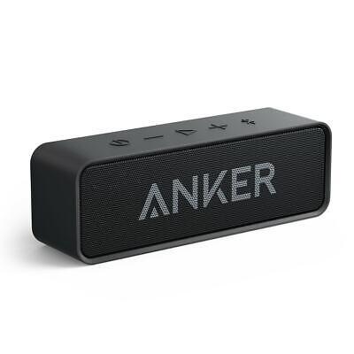 Anker Soundcore Bluetooth Speaker Loud Stereo Sound 24-Hour Playtime 66ft Range