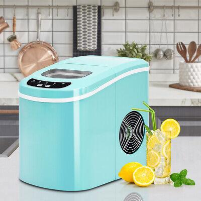Portable Compact Electric Ice Maker Machine Mini Cube 26lbs/