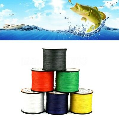 500MT DYNEEMA PE BRAID DA PESCA MARE CARPFISHING FILO TRECCIA BRAID FISHING LINE