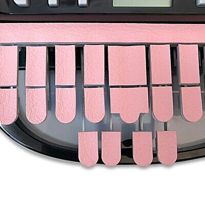 Steno Writer Real Leather Keytop Covers Pink Free Us Shipping