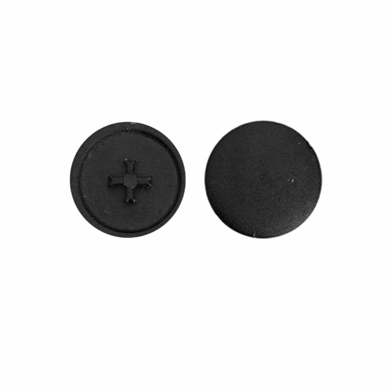 100 Pcs Self-Tapping Screw Caps Cross Screw Nuts Covers Furniture Hardware US