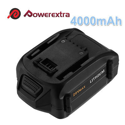 20 Volt 4.0ah Wa3525 Replacement Battery For Worx Wg151s ...