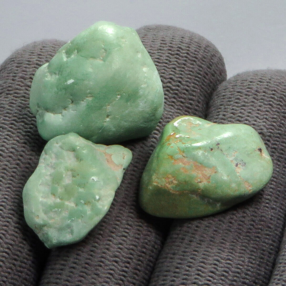 14.2g Natural Blue Green Turquoise Specimen Rough High Hardness TS335 - $1.99